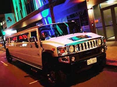 The Hummer Limousine with the best led party lighting for a school ball Hummer Limo service in Perth City